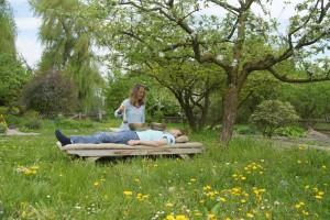 Klangmassage in der Natur