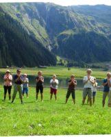 Sheng Zhen Meditation und Qigong in den Bergen